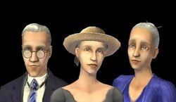 Família Rugabaixa no The Sims 2