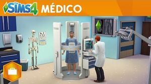 The Sims 4 Ao Trabalho - Trailer oficial - Gameplay Médico