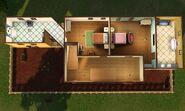 Casa Escondida, segundo andar