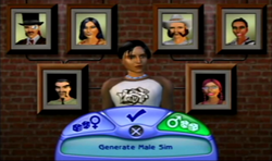 The Sims 2 PS2 Árvore Genealógica