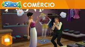 The Sims 4 Ao Trabalho Comércio Trailer Oficial