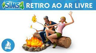 The Sims 4 Trailer Oficial Retiro ao Ar Livre