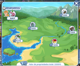 Mapa Littlehaven