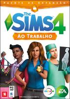 Capa The Sims 4 Ao Trabalho (Primeira Versão)