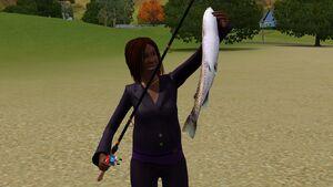 Pescaria Sims3 Peixe