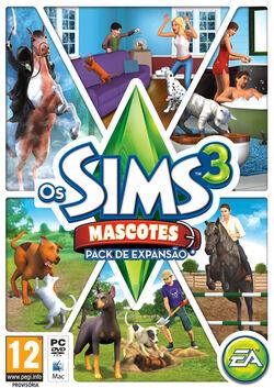 Packshot Os Sims 3 Mascotes