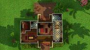 Casa Humilde (Isla Paradiso), segundo andar