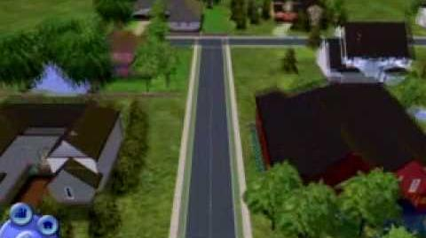 Sims 2 Riverside flyby