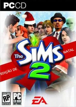 Capa The Sims 2 Edição de Natal (2005)
