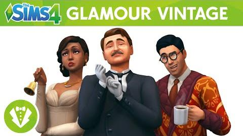 The Sims 4 Glamour Vintage Trailer Oficial