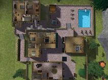 Colônia Morro Azul, primeiro andar