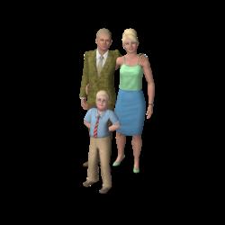 Família Quero-Tudo-Que-É-Seu (The Sims 3)