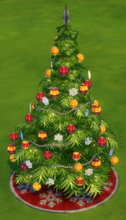 Árvore de Fim de Ano TS4