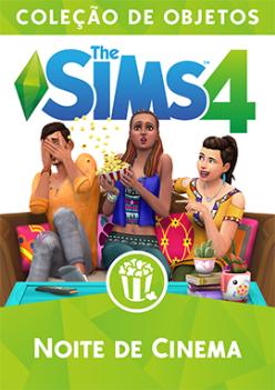 Capa The Sims 4 Noite de Cinema (Primeira Versão)