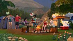 The Sims 4 Retiro ao Ar Livre 01