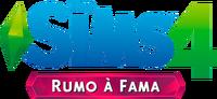 Logo The Sims 4 Rumo à Fama (Primeira Versão)