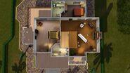Casa LeGrande, segundo andar