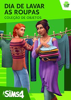 Capa The Sims 4 Dia de Lavar as Roupas