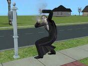 Vampiro a morrer sims 2