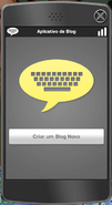 Aplicativo de Blog