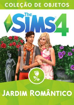 Capa The Sims 4 Jardim Romântico (Primeira Versão)