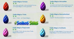 Feijões mágicos the sims 4