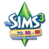 Logo The Sims 3 Anos 70, 80, e 90