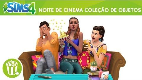 The Sims 4 Noite de Cinema Trailer Oficial