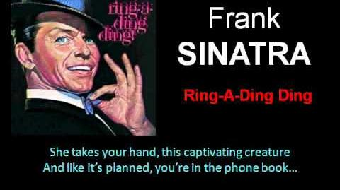 Ring A Ding Ding (Frank Sinatra - with Lyrics)