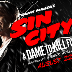 A Dame to Kill For banner.