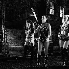 The girls of Old Town in <i>A Dame To Kill For</i>.