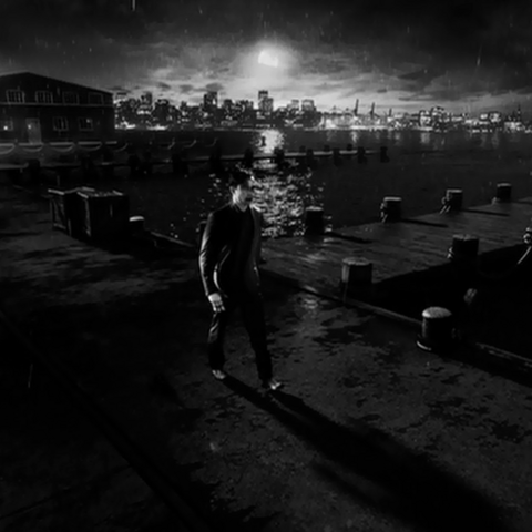 Johnny at the docks.