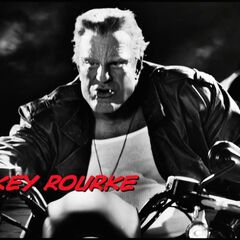 Mickey Rourke.