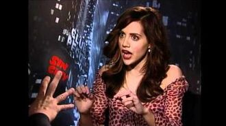 Brittany Murphy interview for Sin City