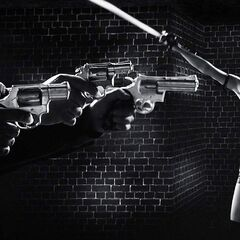 Colt Python in <i>A Dame To Kill For</i>.