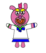 1. Pink Sailor scout