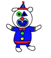 Clown sing a ma jig