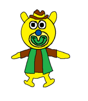Cowboy sing a ma jig