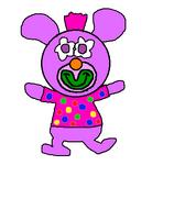 Bright purple sing a ma jig