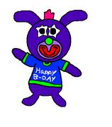 Violet birthday sing a ma jig