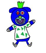 25. Blue robot