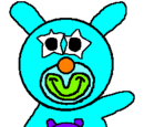 Turquoise with Purple Baby