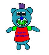 34. Birthday aqua