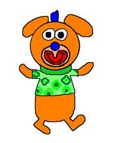 2. Bright orange