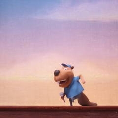 The beaver auditions by singing