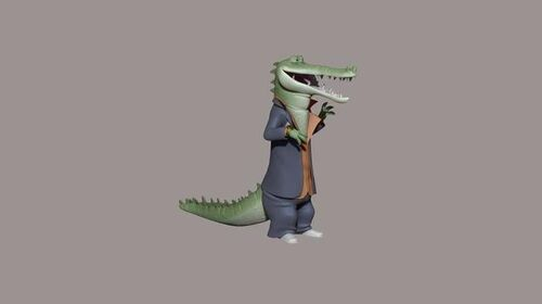Crocodile - Concept Render