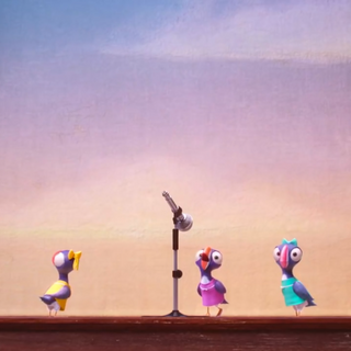 The puffins audition by singing