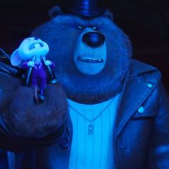 The bear leader demanding that <a href=