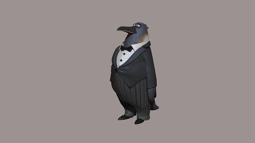 Penguin - Concept Render