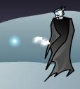 Skeleton Mage Ice Bolt